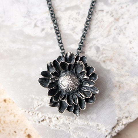 Last of Summer Flower Necklace