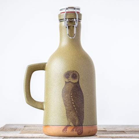 Owl Growler | Green