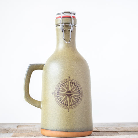 Compass Growler | Green