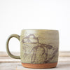 Michigan Map Coffee Mug | Green