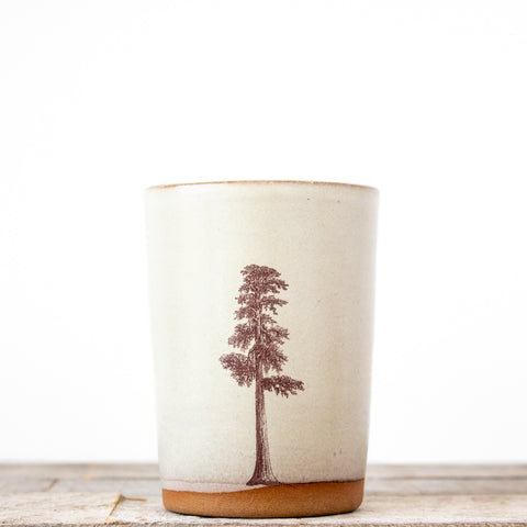 Sequoia Tree Tumbler | Oatmeal