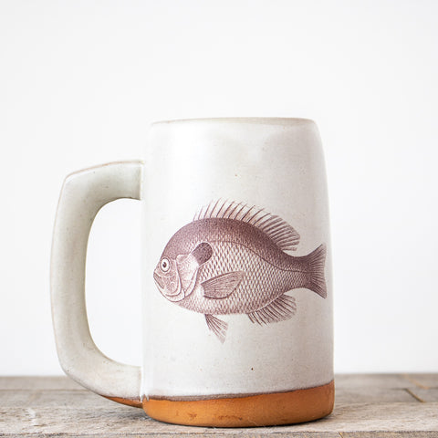 Bluegill Stein | Cream