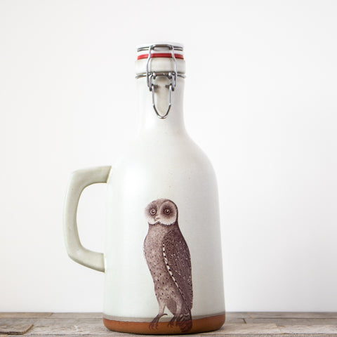 Owl Growler | Cream