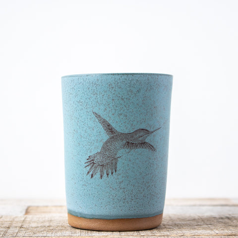 Hummingbird Tumbler | Blue