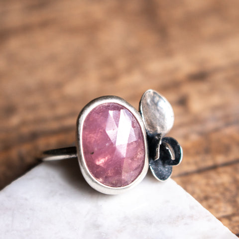 Size 9.25 | Pink Sapphire Ring