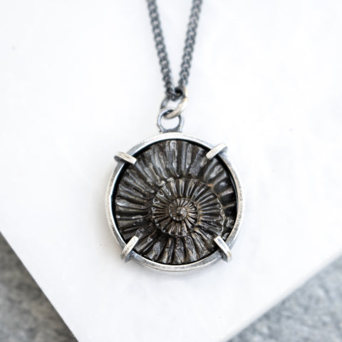 Pyritized Ammonite Pendant no.1