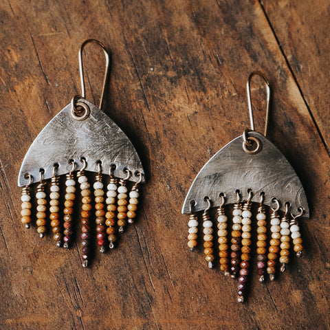 Jasper Ombre Earrings - Artisan's Bench