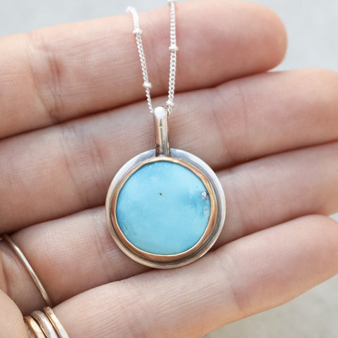Morenci Full Moon Necklace no.1
