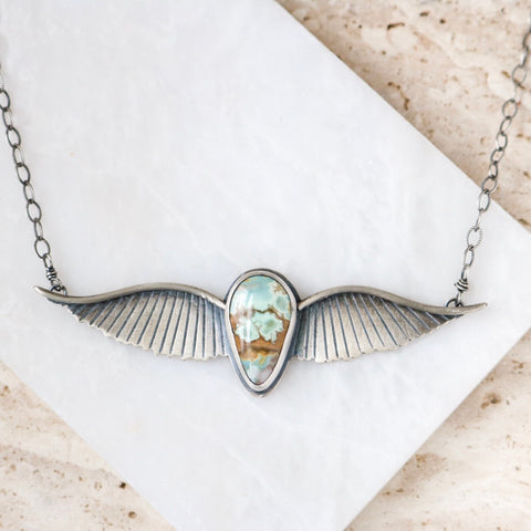 'Adventurer' Winged Necklace