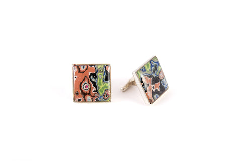 Rebel Nell Cufflink (Peach) - Artisan's Bench