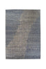 Broken Design Grey Wool and Silk Rug 10 x 14 (9257) - Artisan's Bench - 3
