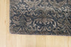 Broken Design Grey Wool and Silk Rug 10 x 14 (9257) - Artisan's Bench - 2