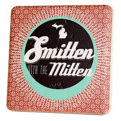Smitten with the Mitten Coaster - Artisan's Bench