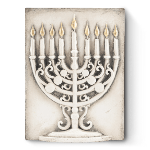 Hanukkah Menorah SP12 (Retired) | Sid Dickens Memory Block