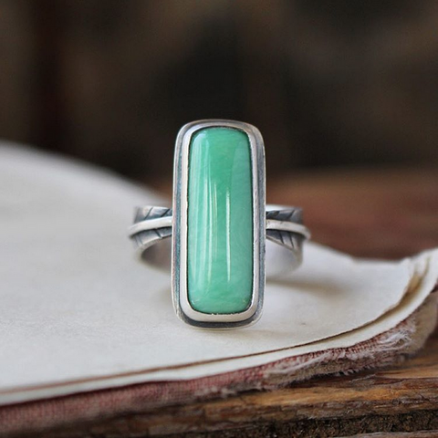 HOPE Variscite Ring Size 6.5 - Artisan's Bench