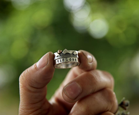 Explore Mountain Stacking Rings - Artisan's Bench