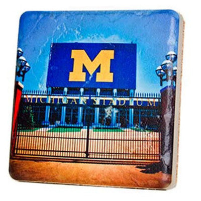 Michigan Stadium Gates Coaster - Artisan's Bench - 1