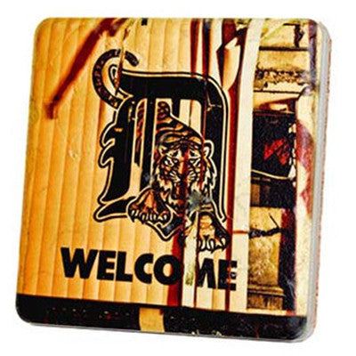 Tigers Welcome Coaster - Artisan's Bench