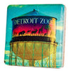Detroit Zoo Tower Coaster - Artisan's Bench