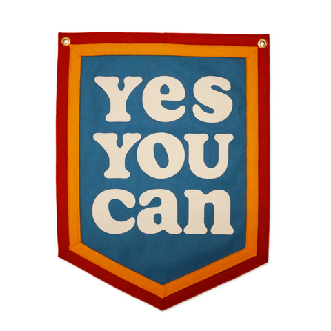 Yes You Can | Camp Flag