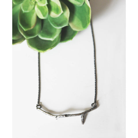 Silver Branch Necklace - Artisan's Bench
