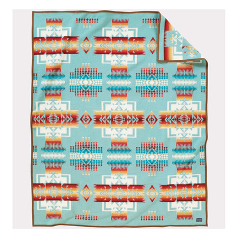 Chief Joseph Blanket | Aqua
