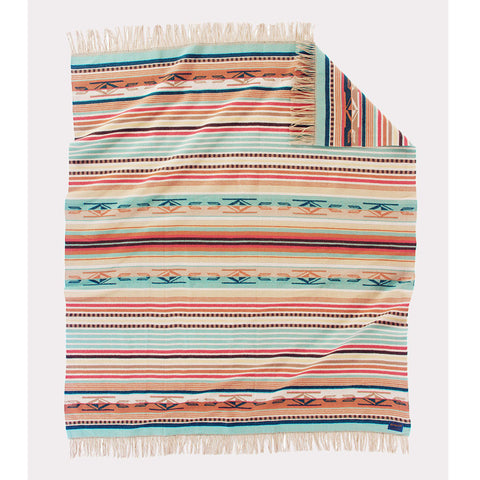 Chimayo Throw | Coral