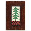 Motawi Dard Hunter Tree in Peppermint - 4x8 - Artisan's Bench