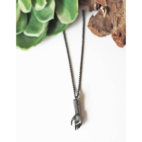 Fern Hand Necklace - Artisan's Bench