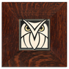 Motawi Owl in Grey White - 4x4