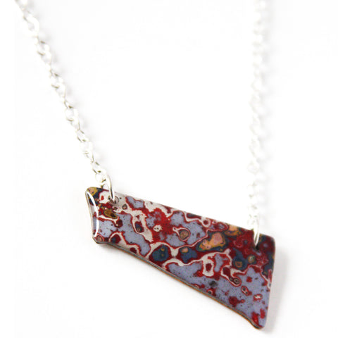 Rebel Nell Small Pendant (Pink + Red) - Artisan's Bench