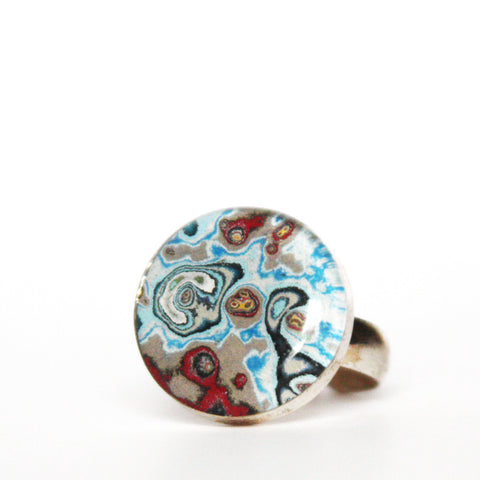 Rebel Nell Round Ring - Artisan's Bench