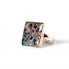Rebel Nell Square Ring - Artisan's Bench