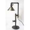 Edison Table Lamp with Silver Shade - Artisan's Bench - 1