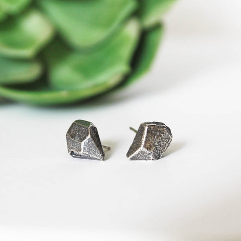 Faceted Stone Earrings - Artisan's Bench