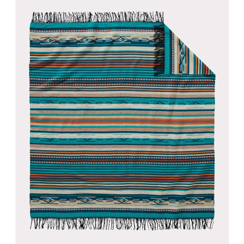 Chimayo Throw | Turquoise