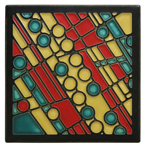 Motawi Field Games in Yellow - 6x6
