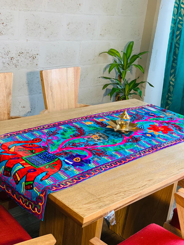 Camino de Mesa Ari Color (150cm x 50) PPM42 #976 - BOUTIQUE DE LA INDIA