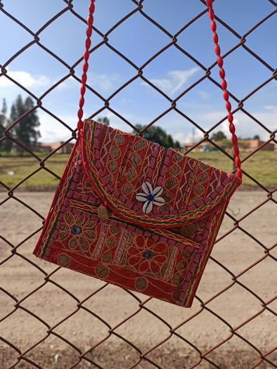 Cartera Patches Hindú  (#6) PPM15 - BOUTIQUE DE LA INDIA