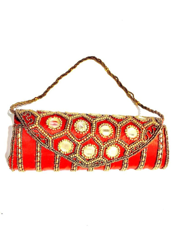 Cartera Potly Tubular árabe (#101)  PPM33 - BOUTIQUE DE LA INDIA
