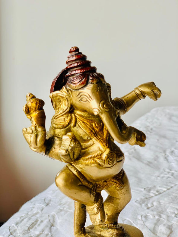 Estatuilla Ganesh Bailando hindú  PPM150 - BOUTIQUE DE LA INDIA