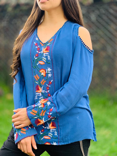 Blusa Apika de Turquía PPM45 - BOUTIQUE DE LA INDIA