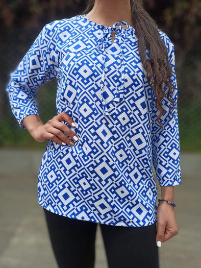 Blusa Dinny Oriental #12 PPM29 - BOUTIQUE DE LA INDIA