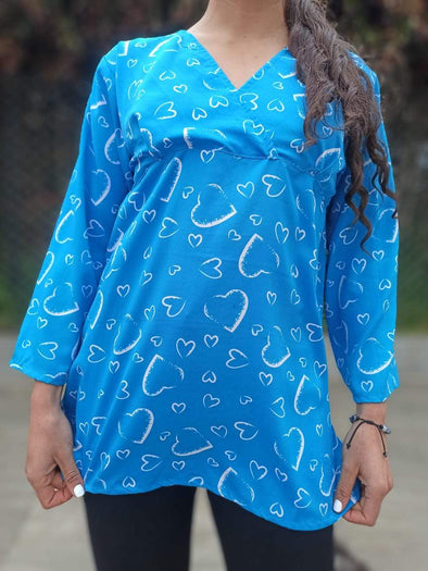 Blusa Hebbe Oriental #14 PPM29 - BOUTIQUE DE LA INDIA