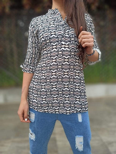 Blusa Lily #5 Arabe PPM29 - BOUTIQUE DE LA INDIA