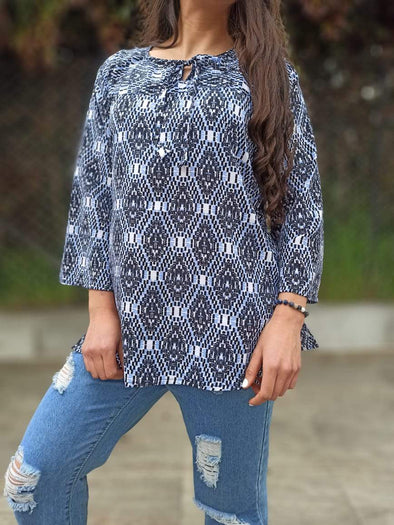 Blusa Analy #7 Arabe PPM29 - BOUTIQUE DE LA INDIA