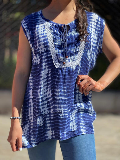 Blusa Ananda Oriental #19 PPM29 - BOUTIQUE DE LA INDIA