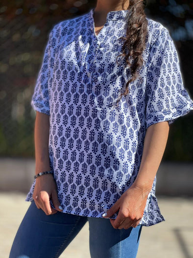 Blusa Kahy Oriental #22 PPM29 - BOUTIQUE DE LA INDIA