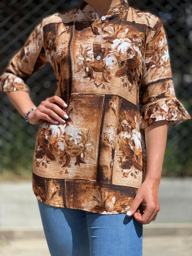 Blusa Bex Oriental #25 PPM29 - BOUTIQUE DE LA INDIA