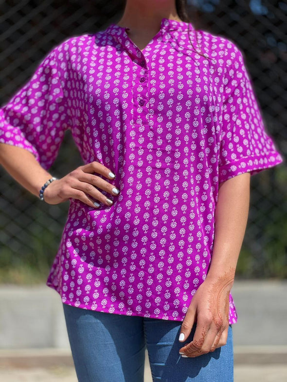 Blusa Muxi Oriental #28 PPM29 - BOUTIQUE DE LA INDIA